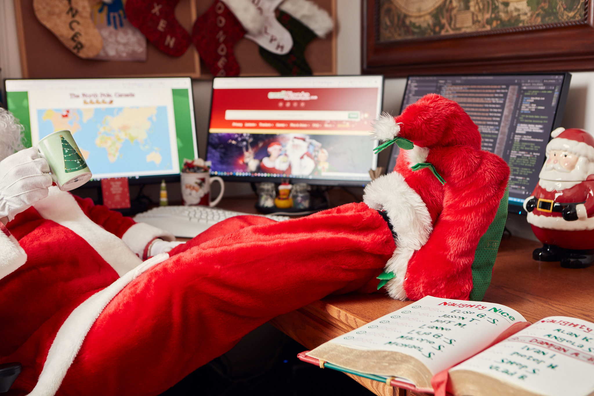 The actual Story Behind Letter To Santa
